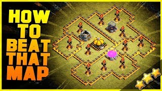 """How to 3 Star """"ALL ANGLE ATTACK"""" with TH8, TH9, TH10, TH11, TH12 