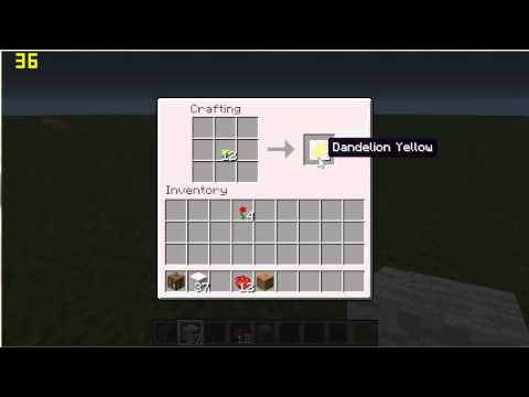 How To Make Dye Beds In Minecraft