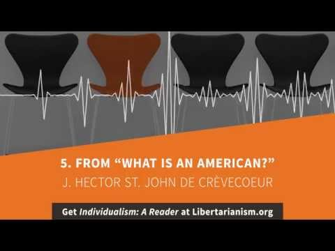 5. From What is an American? | Individualism: A Reader