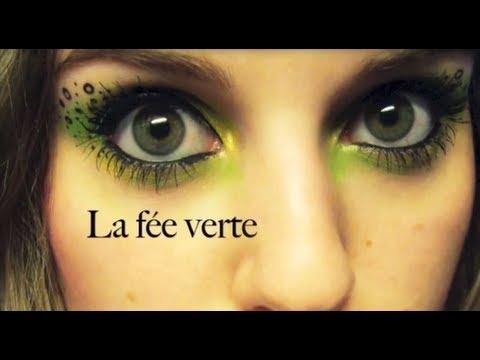 [1,2,3 TUTO] N°9 Maquillage de Fée (Vert)