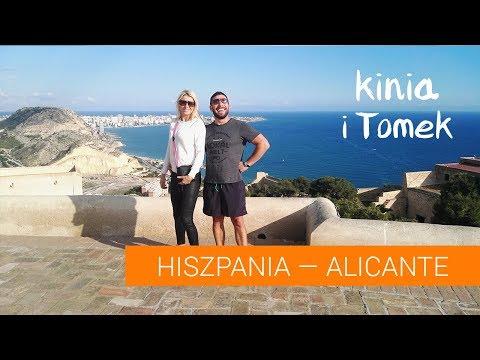 Alicante, Hiszpania. Plaża, restauracje i melanż.