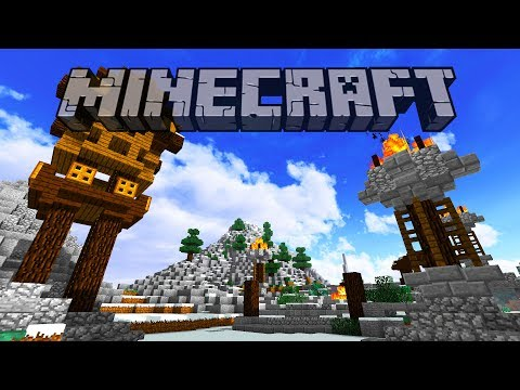 Snowy Mountain | Minecraft 1.12 Survival Let's Play | Episode 14