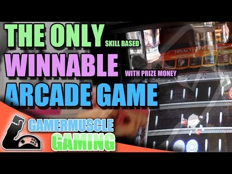 The Only Skill Based Cash Prize Arcade Game -  GamerMuscle Gaming