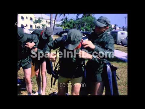 Astronaut scuba training at Bocachica, Key West, Florida part 1 of 2
