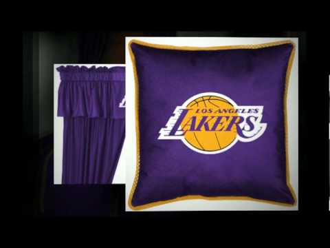Attrayant LA Lakers Bedding   Decorate Your Bedroom With Los Angeles Lakers Bedding    YouTube