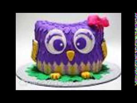 картинки с тортами с  совой и няхами