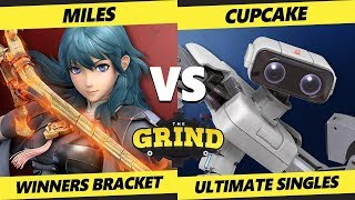Smash Ultimate Tournament - Miles (Byleth) Vs. Cupcake (ROB) The Grind 112 SSBU Winners Round 1