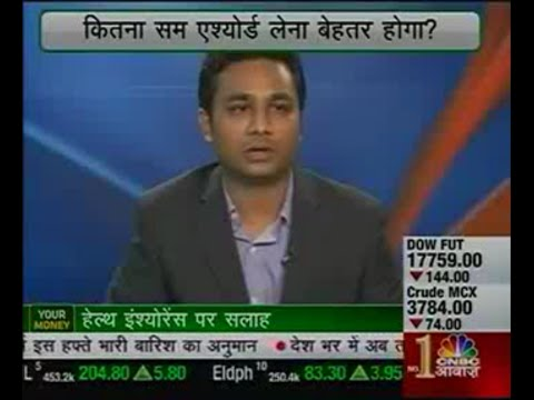 Naval Goel, CEO - PolicyX.com  on CNBC Awaaz : Your Money - 15 June 2015
