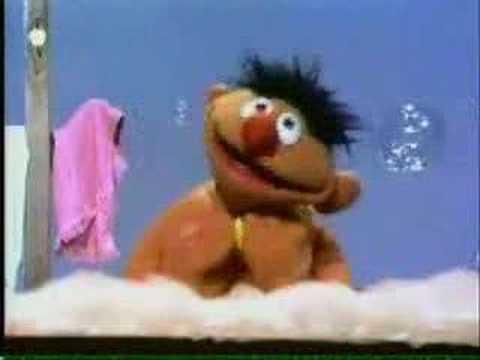 Sesame Street Rubber Duckie 1970 Version Youtube