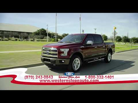 Fall Clearance Event At Western Slope Ford