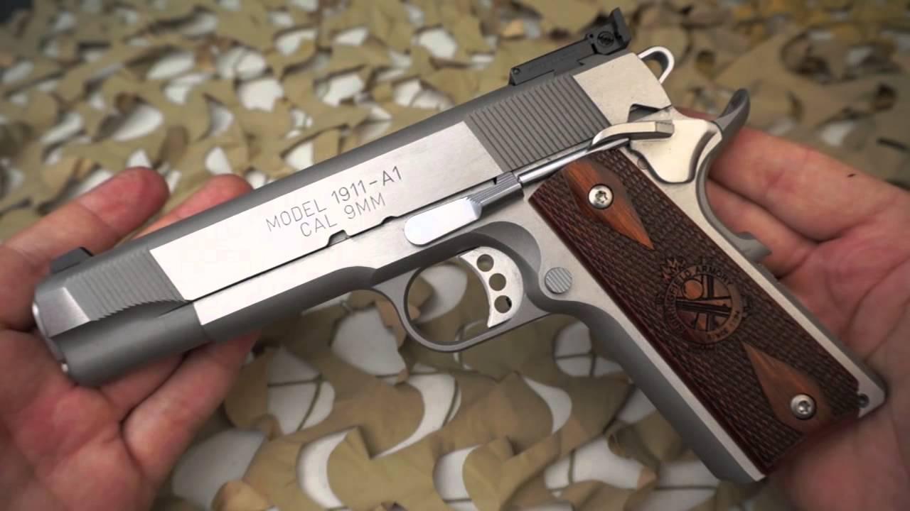Springfield Loaded 1911 9mm Stainless Semi-Auto Pistol Overview - Texas Gun  Blog