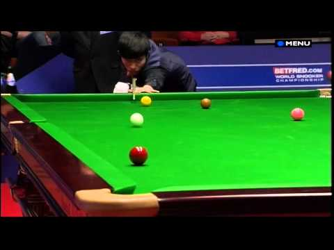 Snooker - The most unfortunate way to lose a match EVER! (World Championship 2012 - 22.4.12)