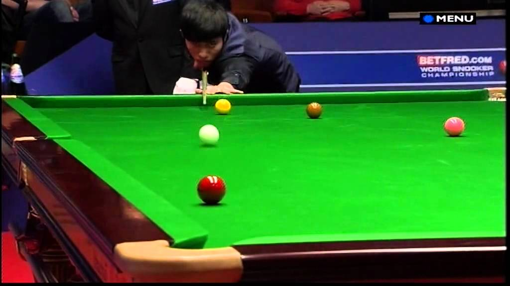 Snooker The Most Unfortunate Way To Lose A Match Ever