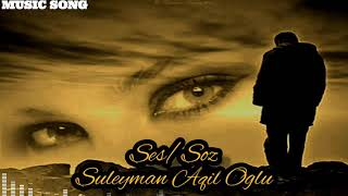 Süleyman Aqil Oğlu 2020 şeir Qara Taleyim