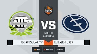 [RU] ex-Singularity vs Evil Geniuses | Map 1: Dust2 | ECS Season 8 North America
