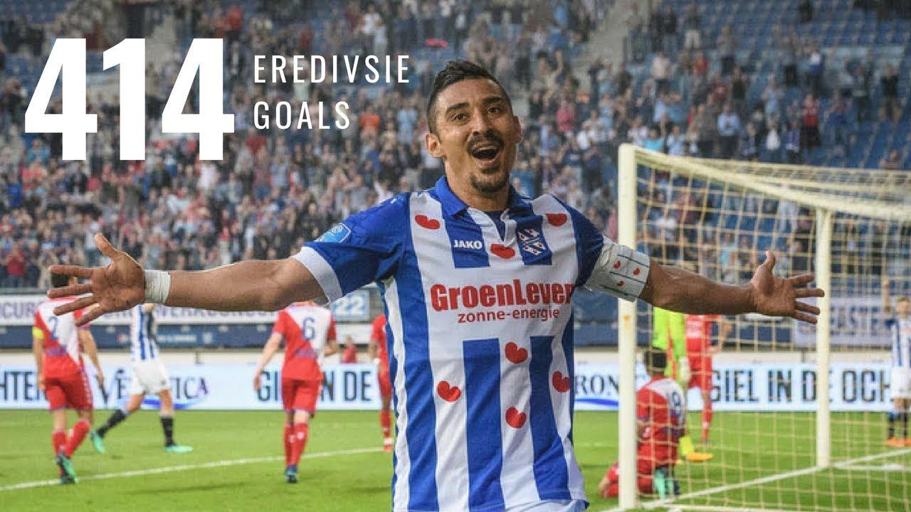• Eredivisie ⁞ Alle 414 doelpunten - Eerste seizoenshelft ⁞ 2016/'17
