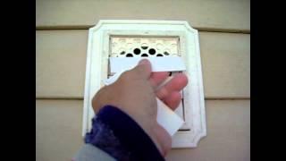 dryer vent bird guard | birdstop | dryer vent insert | bird stop | bird block | pest block