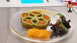 Food Ink World's First 3D Printing Restaurant - London Pop Up