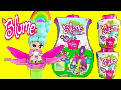 BLUME DOLLS MAGIC SECRET GARDEN PLAYSET!  Magically Grow Your Own Squishy Hair Doll! - Doll Video