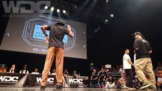 Co-thkoo vs Ness&Poppin C FINAL POPPIN' WDC 2019 World Dance Colosseum #WDC