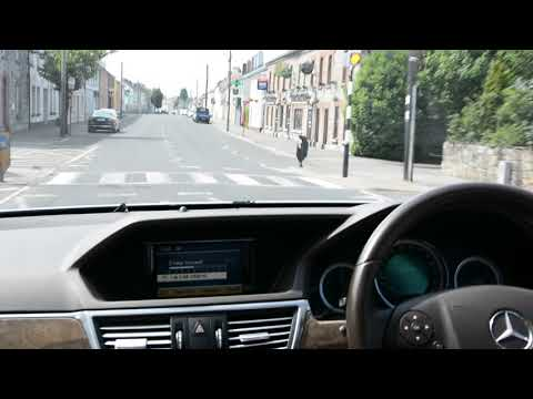 Drive through Daingean in Co. Offaly.