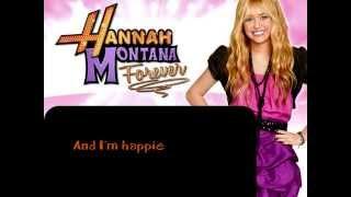 Hannah Montana - Que Sera (Instrumental/Karaoke)