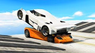 RAMPING WITH SUPERCARS! (GTA 5 Races)
