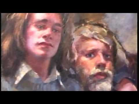 Robert Oscar Lenkiewicz NEC Art Exhibition.  Birmingham  1994 Part 2