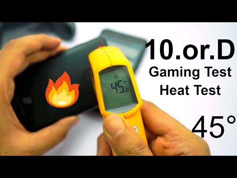 10.or D Gaming Review, Heat Test and Battery Drain Test