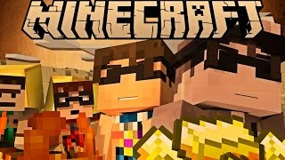 THE STORY OF BUTTER! (Minecraft Machinima)