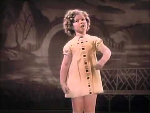 Shirley Temple You Gotta S.M.I.L.E To Be H.A Double P.Y From Stowaway 1936