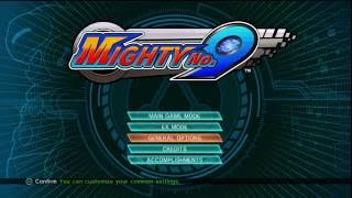Mighty No.9 Gameplay (PS3) - Look at this frame rate...