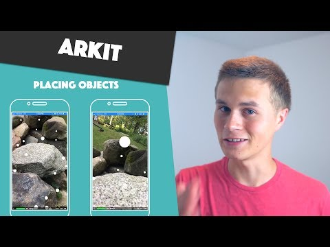 ARKit Basics! (Placing Objects : Swift 4 In Xcode 9)