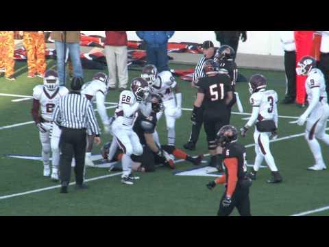 Texas State Class 4 A Dist. 15  Playoff,,, Ennis High School vs Aledo High School