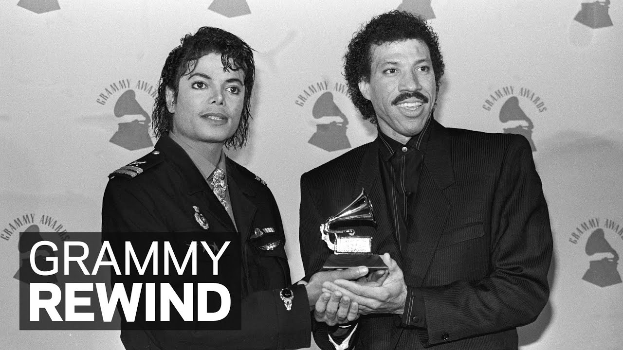 "Michael Jackson & Lionel Richie Win Song Of The Year For ""We Are The World"" 