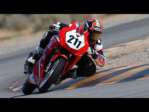 Honda CBR300R Racebike Breaks Lap Record At Chuckwalla | ONBOARD GOPRO VIDEO