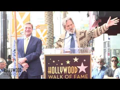 John Goodman - Hollywood Walk of Fame Ceremony
