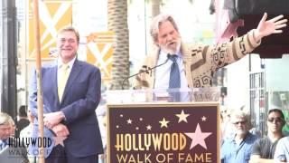 John Goodman - Hollywood Walk of Fame Ceremony