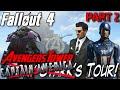 Captain America Tours Avengers Tower   Fan Video (HUGE EPIC SETTLEMENT BUILD)   Fallout 4