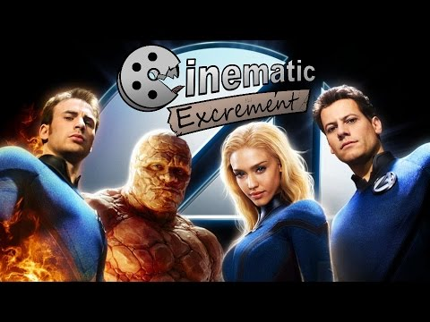 Cinematic Excrement: Episode 84 - Fantastic Four/Rise of the Silver Surfer