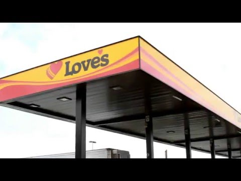 RFID Cardless Fueling Technology at Love's