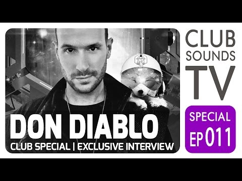 ★ DON DIABLO Special ★ Exklusives Interview + Einblick hinter die EDM Kulisse ★
