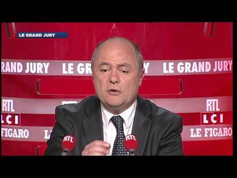 Le Grand Jury du 01 juin 2014 - Bruno Le Roux - 2e partie - RTL - RTL