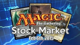 MTG Stock Market - February 6th 2015