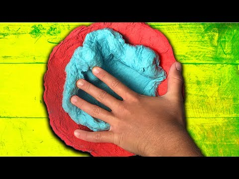 Dried Slime Bowl! How to make DIY Paper Slime 2 ways! Paper Mache Slime!