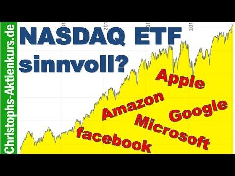 NASDAQ 100 ETF sinvoll? Konkrete ETF-Empfehlung und was man beachten sollte