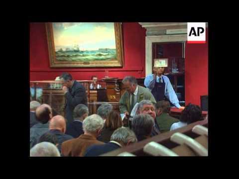 UK - Titanic memorabilia auctioned off