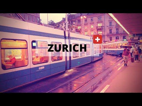 Zurich 2019 in 4 minutes - Travel Switzerland [4K]