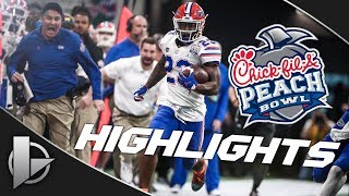 2018 Peach Bowl: #10 Florida Gators vs. #7 Michigan Wolverines - Highlights