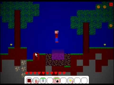 2D Minecraft - Mine Blocks 1.11 - Nether